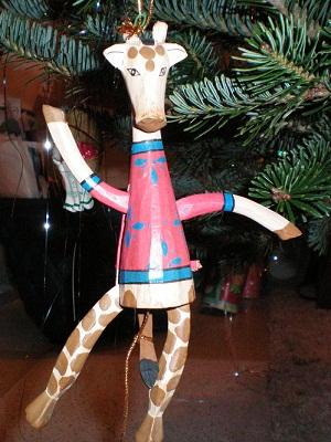 Django the Kung Fu Giraffe
