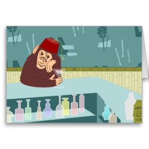 This monkey is worried about the fez's future.(Photo credit: http://tinyurl.com/lzegpt9)