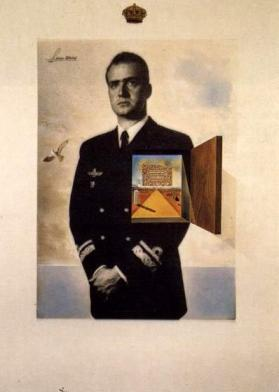 Relax: this guy's in charge (Dali's Prince of Sleep)
