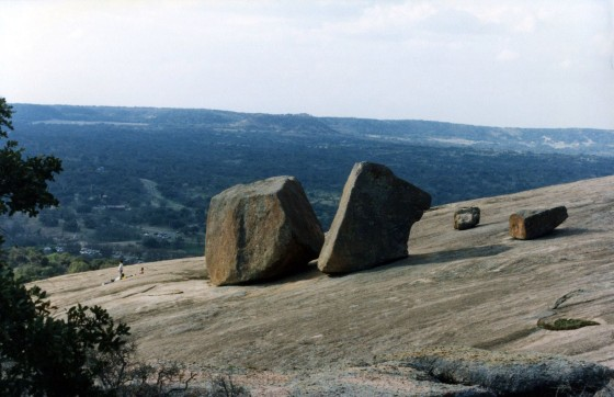 Enchanted Rock (part of the Llano uplift)Photo credit: A Landing A Day