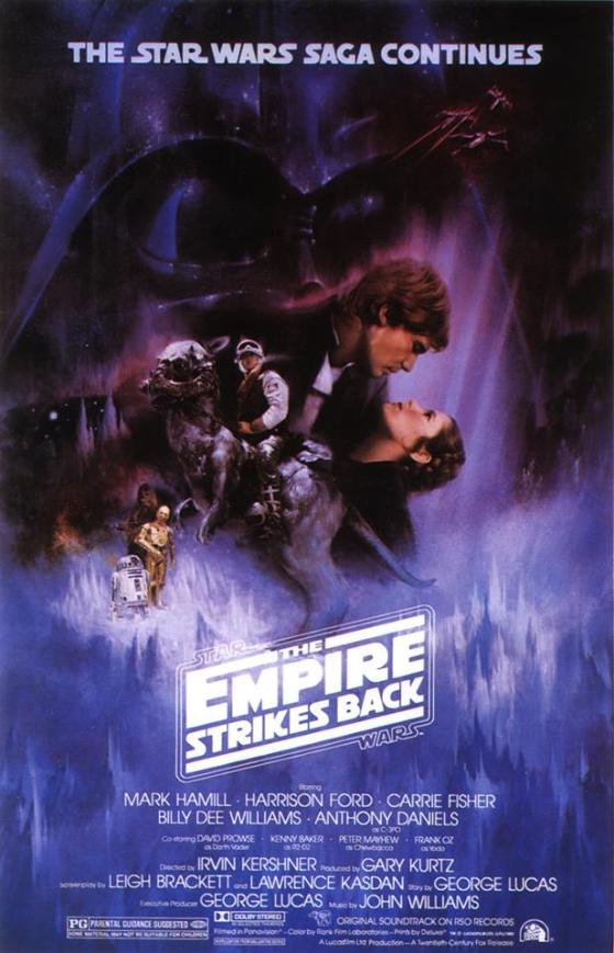 Empire Strikes Back is where it's AT-AT.