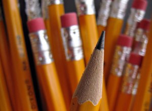 Looook, don't you just want to start writing with it? Can't ya just smell that pencil smell?