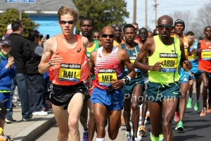 Meb and Ryan running together