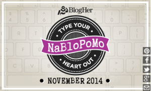 The month of November brought to you courtesy of BlogHer